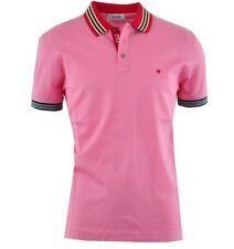 MOSCHINO Polo Shirt Rot Pink Red Rouge Rose 03344