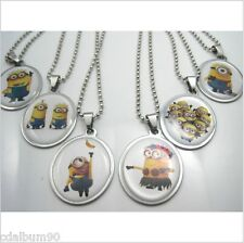 COLLIER NECKLACE COLLANA HALSKETTE MINION MOI MOCHE ET MECHANT DESPICABLE ME