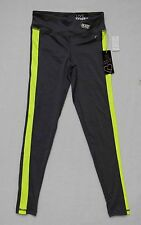 Aeropostale LIVE LOVE DREAM Active Leggings in Gray/Yellow New w/Tags