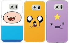 Adventure Time With Finn And Jake Character Samsung Galaxy S6 Hard Case