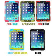 Pepkoo Defender Shock/Water Proof Rotating Stand Case Cover For iPad mini 1 2