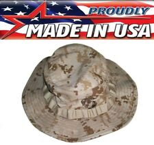 USMC Marine Marpat Tactical Desert Digital Camouflage Boonie Hat US Made 574
