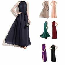 New Long Chiffon Evening Formal Party Cocktail Ball Gown Prom Bridesmaid Dress