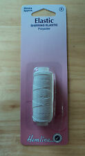 Shirring Elastic ~ 20 metres ~ Black or White