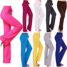 New Women's Booty Flare Comfort Yoga Workout Dance Pants Gym Exercise Clothing