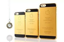 Case 24k Gold Color UAE Limited Editlon Back Cover for iPhone 6 or 6 Plus or 5S