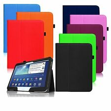 """New Folio PU Leather Stand Case Cover for Samsung Galaxy Tab 3 10.1"""" P5200 P5210"""
