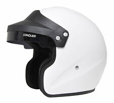 Snell SA2010 Approved Open Face Racing Helmet