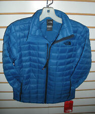 THE NORTH FACE BOYS THERMOBALL FULL ZIPJACKET- A8B2- XS,S,M,L,XL - SNORKEL BLUE