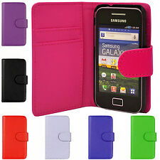 PU Leather Phone Case Cover Wallet Flip For Samsung Galaxy Ace S5830 GT-S 5839i