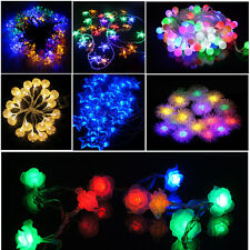 20LED Fairy String Lights AA Battery Powered Flashing Static Party Garden Lights