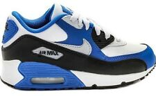 NIKE 307794-168 AIR MAX 90' PS WHITE/HYPER COBALT/WOLF GREY YOUTH'S SIZE