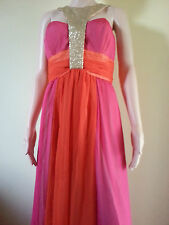 Love Affair Maxi cocktail party dress Sequins neckline BNWT Sz 8, 10, 12, 14