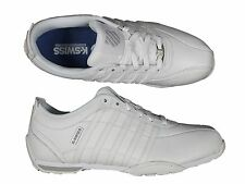 MENS TRAINERS K.SWISS ARVEE1.5 02453-983-M LACE UP LEATHER TRAINERS 6-12