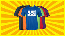 55th Birthday T Shirt Happy Birthday T-Shirt Funny 55 Years Old Tee 7 COLORS