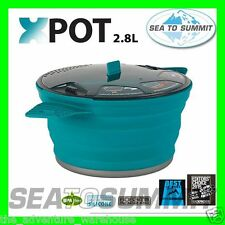 Sea to Summit X-Pot Portable Camping Cooking XPot 2.8L Collapsible Lightweight