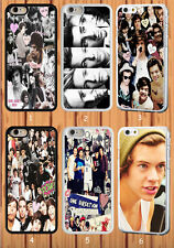 One Direction for iPhone 6 6+ 4S/5S/5C Samsung Galaxy S3/4/5 S6 Note 2/3/4 Case
