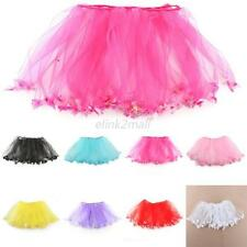 8 Colors Baby Kids Girl Princess Tutu Skirt Ballet Dance Wear Dress Pettiskirt