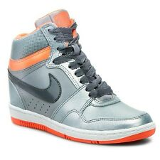 Nike AIR Force Sky High premium uk size 6  EURO 40  Built in wedge heel .
