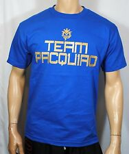 Manny Pacquiao Training T Shirt Pacman Money Tee Boxing Mens Team Pacquiao Blue