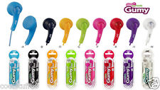 JVC Gumy Gummy HAF150 Headphone Earbuds Earphone iPod Pink Purple Green Blue Red