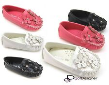 Baby Infant Toddler Girls Shoes kids Flats Floral Dress Cute Comfort NEW Sz 4-8