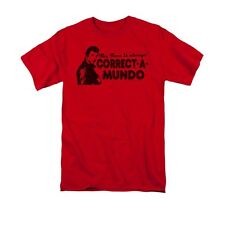 """HAPPY DAYS """"CORRECT A MUNDO"""" Officially Licensed Men's Graphic Tee Shirt SM-3XL"""