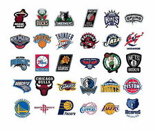 Basketball Decal Stickers NBA Team Logo Licensed Choose From All 30 Teams
