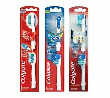 COLGATE 360 Electric Toothbrush Replacement Heads, Medium, Max White & Soft, UK!