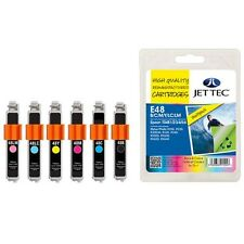 JETTEC REMANUFACTURED EPSON (NOT GENUINE) INK CARTRIDGES T0481/2/3/4/5/6 /T0487