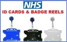 NHS Badge Reel & Id Card Holder - lanyard YoYo Retractable Photo Identity Pass