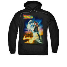 Back To The Future Poster Licensed Pullover Hooded Sweatshirt Hoodie Sm-3Xl