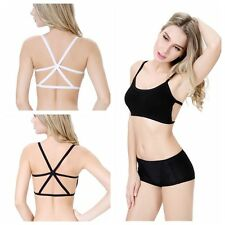 Sexy Modal Strap Safety Top Bottoming Underwear Tube Lingerie Boob Bandeau Bra R