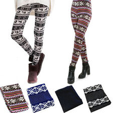 Thin for Trousers Lady's Sexy Skinny Colorful Print Leggings Stretchy Leggings
