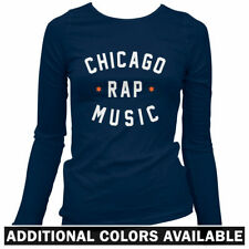 Chicago Rap Music Women's Long Sleeve T-shirt - Kanye Chief Keef CHI - LS Ladies