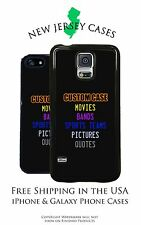 NEW Customize Your Own Design Fav Teams/Movies/Pictures/Qoutes Phone Case Cover