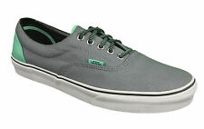 VANS. Era. Grey / Aqua Green. Unisex Shoe. Mens US Size, 11, 11.5, 12, 13