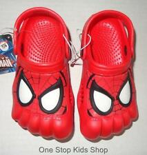 SPIDERMAN Boys 5 6 7 8 9 10 11 12 13 1 2 3 Shoes CLOGS Sandals MARVEL Super Hero