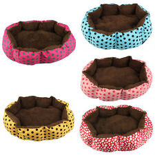 Soft Fleece Pet Dog Puppy Cat Warm Bed House Plush Cozy Nest Mat Pad Nice