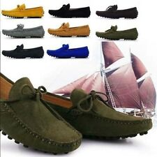 Colors Mens Cow Leather Casual Slip On Loafer comfort Moccasins Driving Shoes