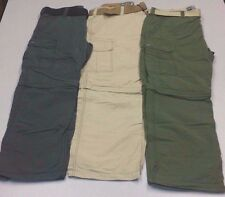 NWT Men's Zip Off Convertible Cargo Pants by Wear First Brand