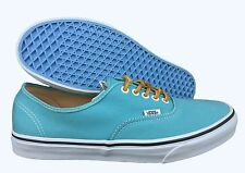 VANS. Authentic. Turquoise GREEN. Brushed Twill Shoe. Mens US Size: 11, 12 & 13