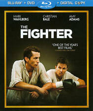 USED Blu Ray THE FIGHTER - Mark Wahlberg Christian Bale Amy Adams Melissa Leo 2