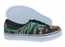 VANS. Authentic. Custom Culture. Black. Unisex Shoe. Mens US Size 7.5, 11 & 11.5