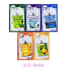 Korea DEWYTREE Focus Mask(TeaTree,Nutrition,Glacial Water,Collagen,Lemon)10 pcs