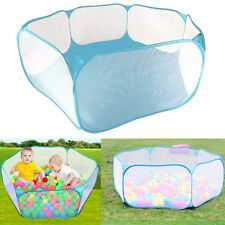 Kids Ocean Ball Pit Pool Tent Indoor Outdoor Foldable Carrying Case Toys Playhut