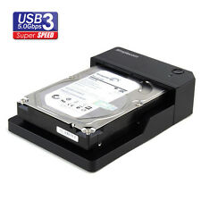 USB 3.0 SuperSpeed Horizontal SATA Hard Drive Dock 3.5 2.5 HDD Docking Station