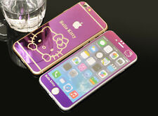 "AP Hello Kitty Tempered Glass Screen Protectors for iPhone 6Plus 5.5"" front+back"