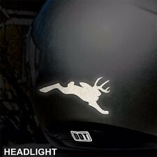 Hyper Reflective Jackalope Decal Motorcycle Helmet Safety Sticker #470R