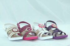Girls Sandals Kids Infant Casual Smart Summer Beach Shoes Sandals UK Size 9-3